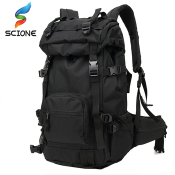 Hot 40L Outdoor Tactical Backpack Backpacks Travel Climbing Bags Outdoor Sport Hiking Camping Army Bag Military Male DS01
