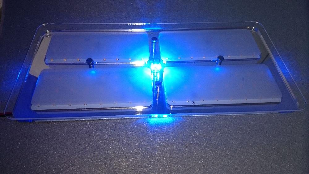 Горячая 12 В DC CoolWhite/теплый белый светодиодный Кристалл крыши Потолочный светильник Caravan/RV/Car/дом на колесах /морской