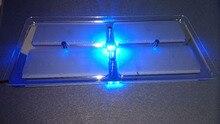 New 12V DC Cool/Warm White LED Crystal Roof Ceiling Light Caravan/RV/Car/Motorhome/Marine