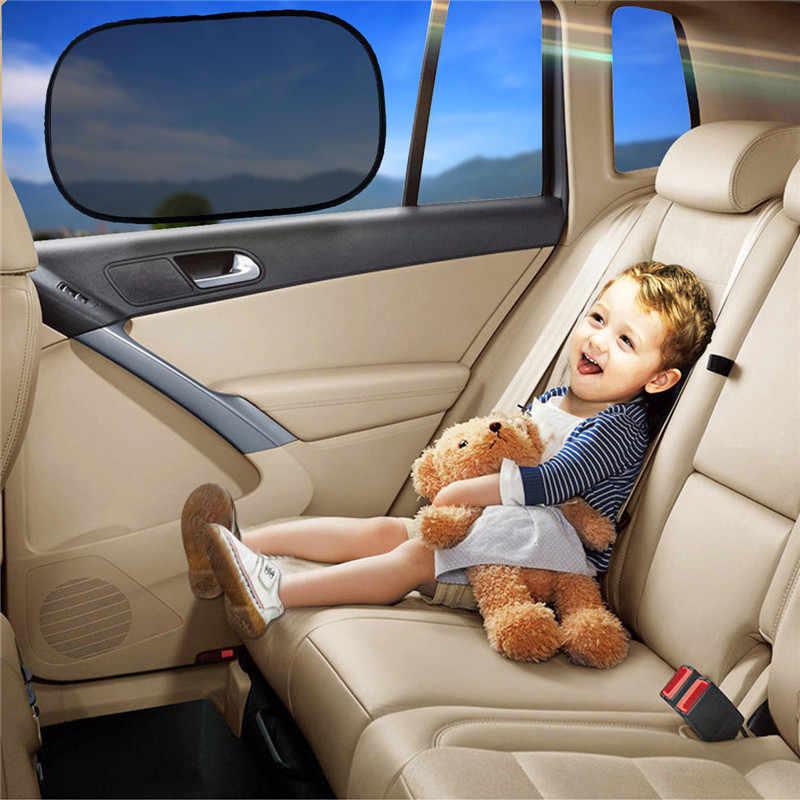 4 قطع universal auto anti uv اقي من الشمس سيارة الشمس المبهر الستارة نافذة ستارة ظلة السيارات الشنق الرياح الدرع