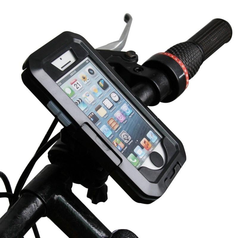 Universal Moto Bike Bicycle Waterproof Zipper Case Mount Holder support suporte para celular mobile Phone GPS