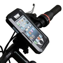 Universal Moto Bike Bicycle Waterproof Zipper Case Mount Holder support suporte para celular mobile Phone GPS for iphone 5 5s 5C