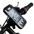 Universal moto bicicleta de la bici impermeable holder zipper case monte soporte suporte para celular teléfono móvil gps para iphone 5 5s 5C