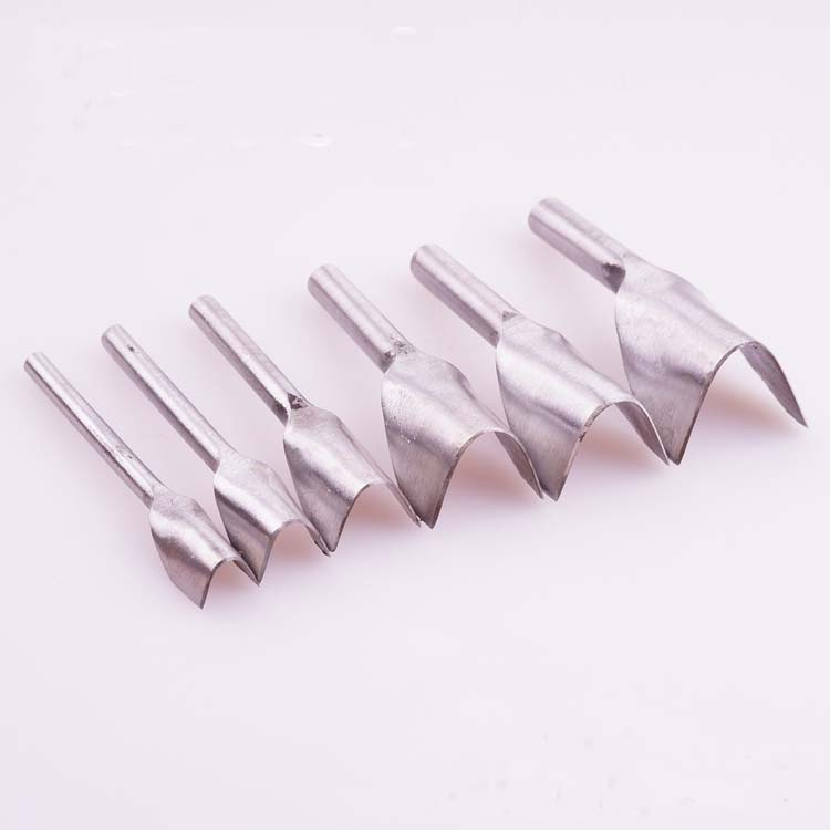 8 in 1 diy leather craft tool needle work tools v shape for Leather shapes for crafts