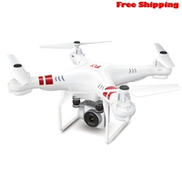 4G Altitude Hold HD Vision Quadcopter RC Drone 2MP WiFi FPV Helicopter Hover APP operation Gravity sensor Free ShippingKey