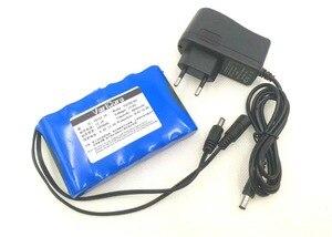 Image 4 - VariCore batería de iones de litio recargable Super 18650, portátil, capacidad cc 12 V 6800 Mah, Monitor de cámara CCTV, cargador de 12,6 V 1A