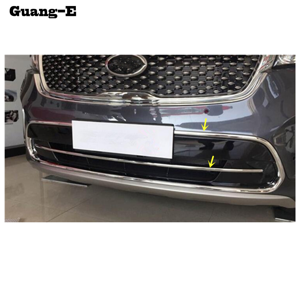 For Kia Sorento L 2015 2016 2017 2018 car body ABS chrome License plate trim front racing Grid Grill Grille hoods panel frame for toyota corolla altis 2014 2015 2016 car body styling cover detector abs chrome trim front up grid grill grille hoods 1pcs