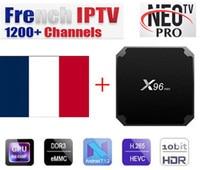 X96 mini Android box with Neotv IPTV French IPTV Arabic Enghlish 1200+ Live 2000 VOD 4k TV IPTV US UK x96mini Smart tv