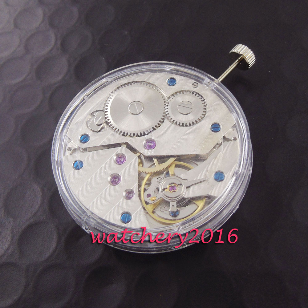 17 Jewels ST 3600 6497 Movement Mechanical Hand Winding Watch Movement