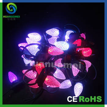 wholesale 200pcs outdoor led christmas light 50pcsstring c7drive ic uc1903 dc5v