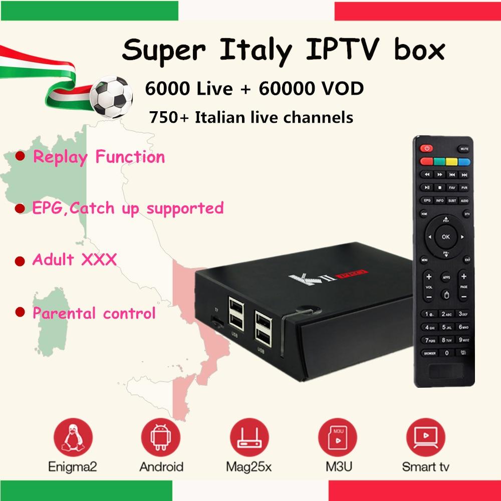 Super Italy IPTV KII PRO Android DVB S2/T2 Combo Receptor+1400+ Albanian Turkey XXX Adult Hot club channels Smart Set Top Box razor pro xxx page 5