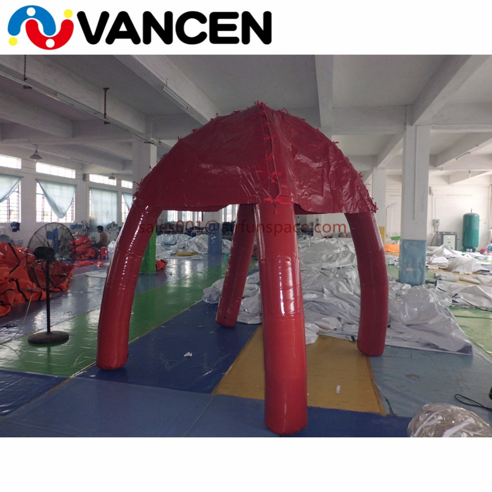 inflatable spider tent01