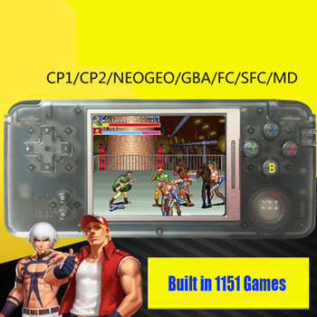 Retro Handheld Game Console 3.0 Inch Console Built-in 3000 Different Games Support For NEOGEO/GBC/FC/CP1/CP2/GB/GBA