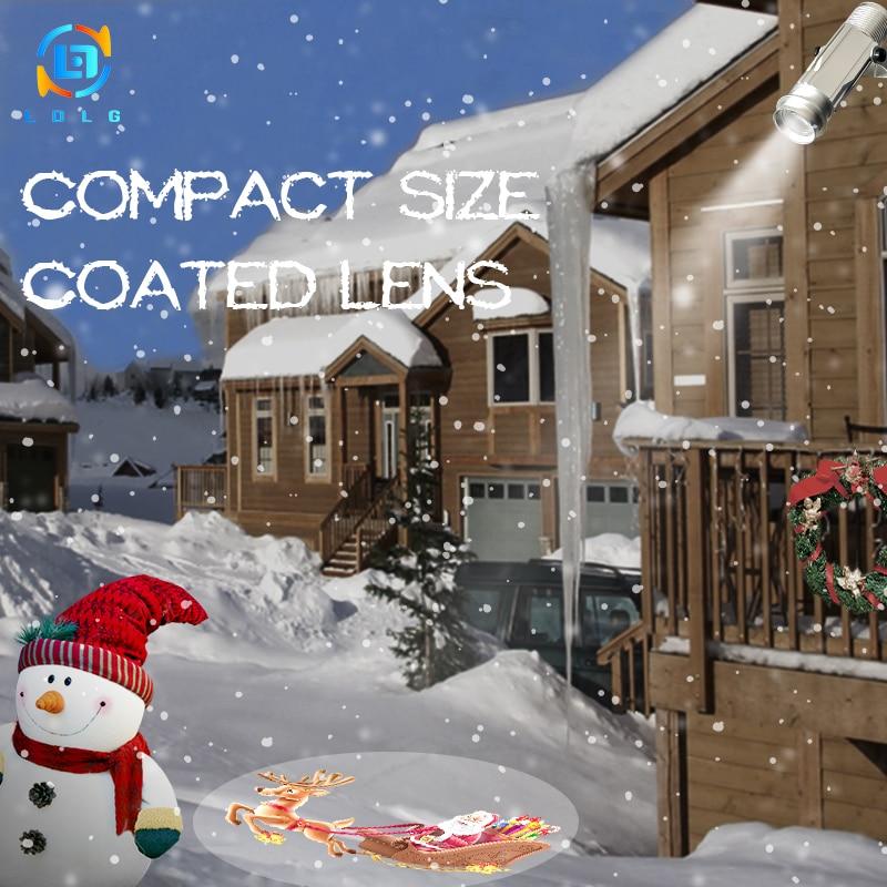 2017 Hot Populære Vandtæt IP65 20W LED-billeder Sign Gobo Projektorer Reklame LED Gobo Projektor med 1 One Color Custom Gobo