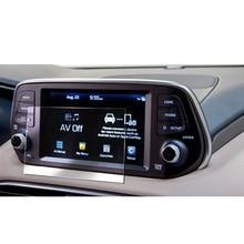 RUIYA закаленное стекло экран протектор для Santa Fe 7 дюймов автомобиля gps навигации экран, закаленное стекло 9h защитная пленка
