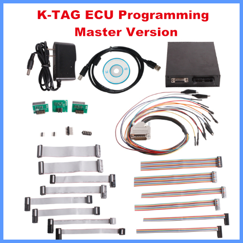 Цена за Новое Прибытие KTAG Программирование ЭБУ К-TAG Инструмент ЭКЮ Prog Инструмент Мастер Версия Бесплатная Доставка по DHL