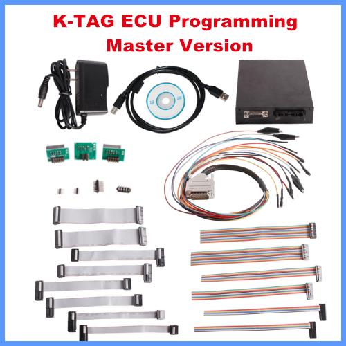 Recién Llegado de KTAG K-TAG ECU herramienta de Programación Herramienta Prog ECU Maestro Versión Envío Libre de dhl