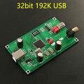 2017 CM6631A interface Digital 32/24Bit 192 K Placa de Som USB para I2S/SPDIF Coaxial de Saída Suporte Conectar DAC Decoder Atualização