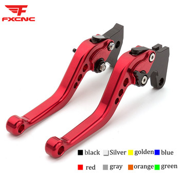 For Honda Z125 monkey bike 2018 - 2019 CNC Short Long Motorcycle Adjustable Brake Clutch Levers Handle Set For Honda CB300R 2019 image