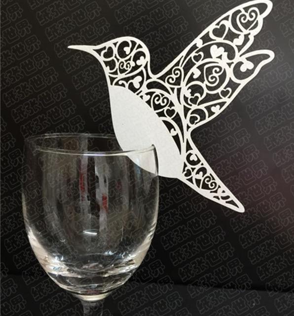 Aliexpress Buy 10pcs Bird Hollow Glass Card Window Wall