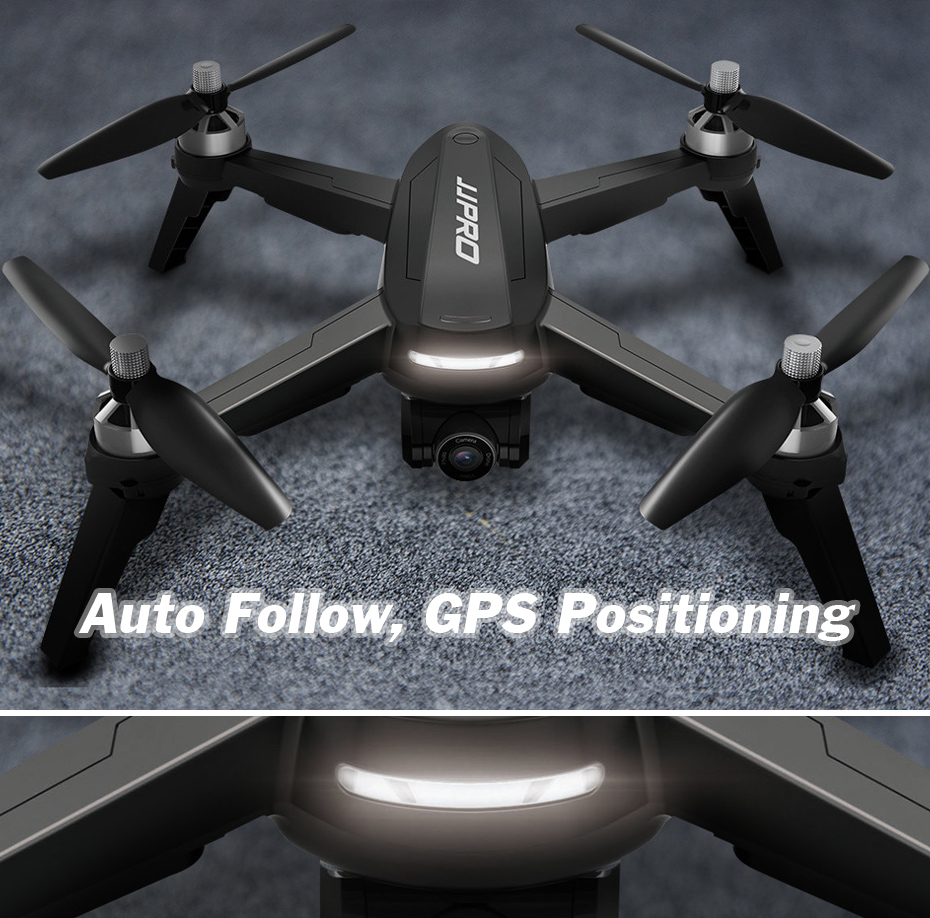 JJRC JJPRO X5 Professional Drone with Camera 1080P Brushless Motor High Hold Quadcopter Auto Follow GPS Positioning Fly  Mins 2