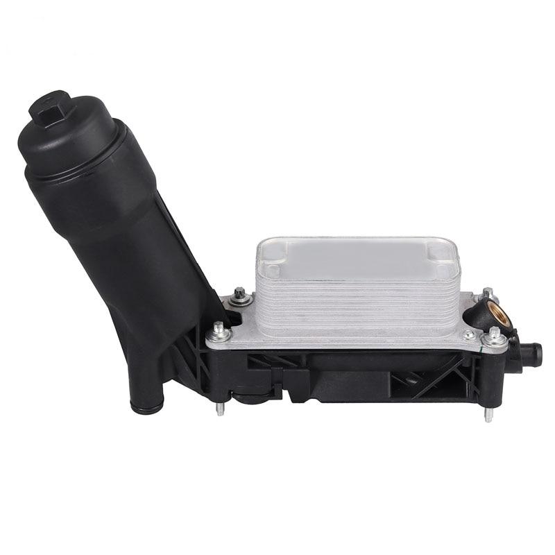 Justech Auto Oliekoeler Filter Behuizing 5184294AE/AD/AC Voor DODGE RAM CHRYSLER JEEP 3.6L V6 Motorolie filter Adapter Behuizing - 3