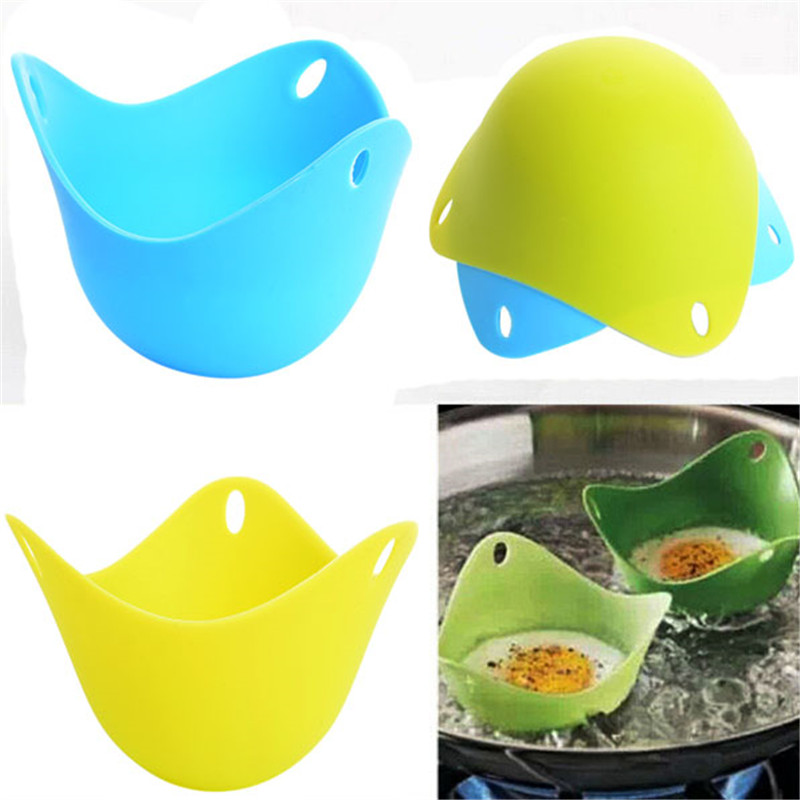 Cook Poach Kitchen Tool DIY Poached Cookware Silicone Steamer Baking Cup Egg