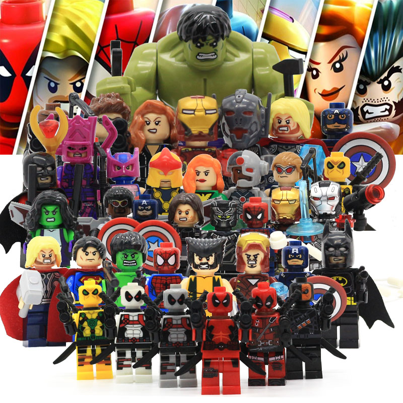 Civil Protection Toys : Avenger super hero compatible with legoingly marvel