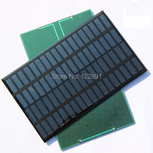 High Quality 18V 2.5W Polycrystalline Energy Solar Panel Module System Solar Cells Charger 194x120x3MM 5pcs/lot Free Shipping