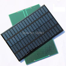 High Quality 18V 2 5W Polycrystalline Energy Solar Panel Module System Solar Cells Charger 194x120x3MM 5pcs