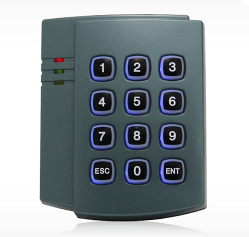Capacity 1000 User ID Card & Password  Door Access Control