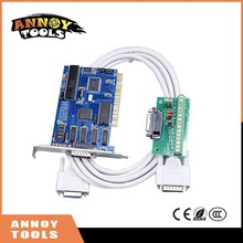 Бесплатная доставка, 3 оси NC студии PCI Motion ncstudio управления набор карт для ЧПУ гравировки фрезерный станок