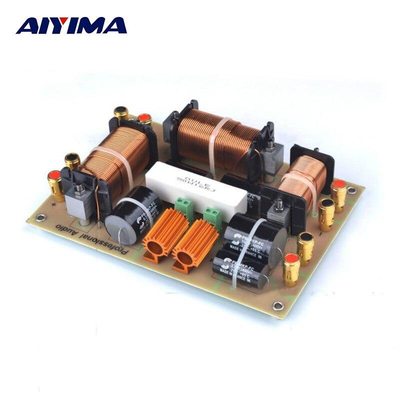 AIYIMA haut-parleurs professionnels Altavoz Portatil Crossover 3000 W bidirectionnel haut-parleur fréquence haute puissance