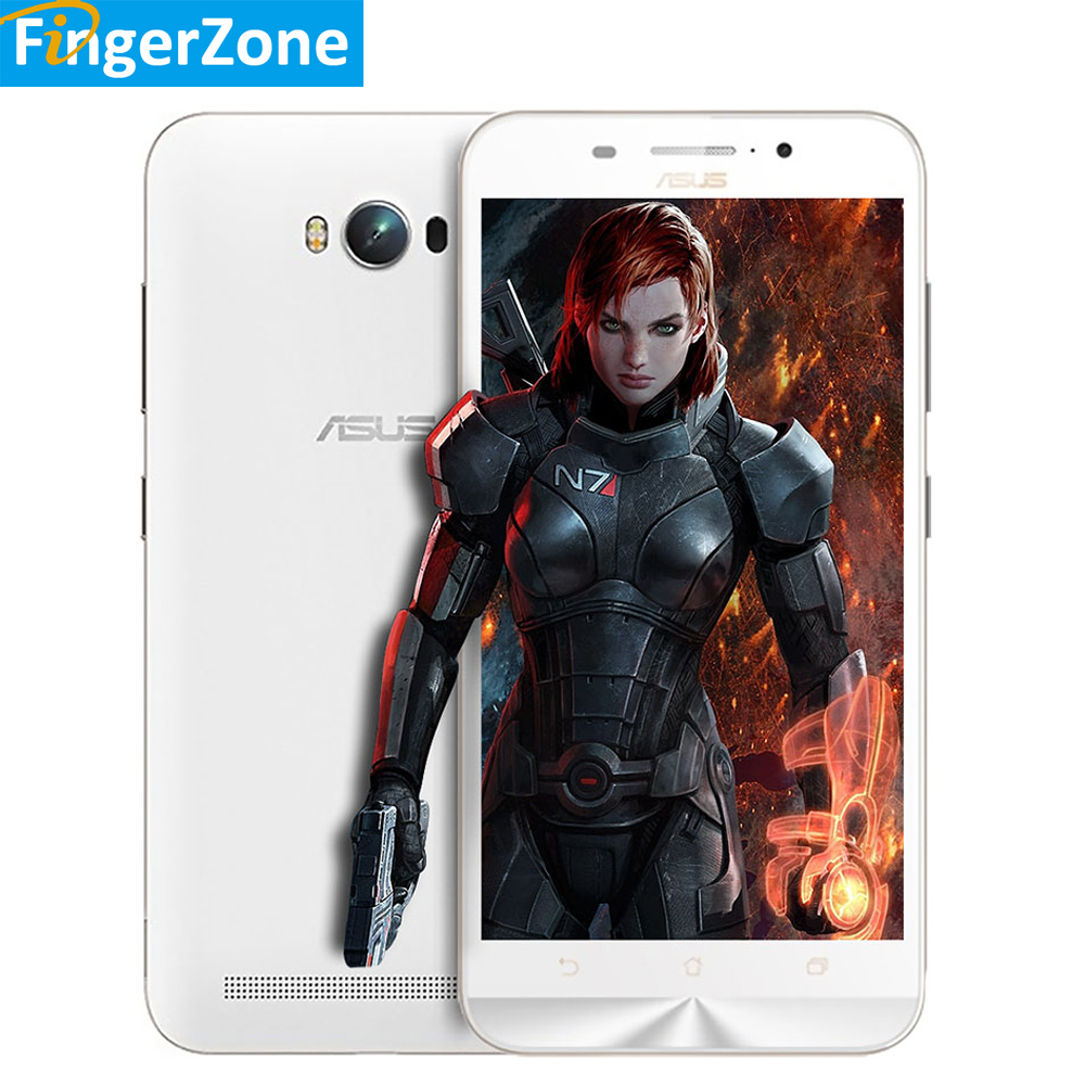 "bilder für Neue ASUS ZenFone Max Pro ZC550KL 5,5 ""HD MSM8916 Quad-core 64-bit-prozessor 2 GB RAM 32 GB ROM 5000 mAh Batterie Android 5.0 GPS 4G Smartphone"