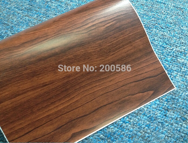 Self Adhesive Pvc Texture Wood Grain Vinyl Wrap Sticker For Car Matte Finish Free Shipping 1 52