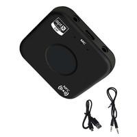 CSR беспроводной мм 3,5 мм аудио адаптер AUX Bluetooth 4,2 приемник APTX/APTX LL/AAC/SBC