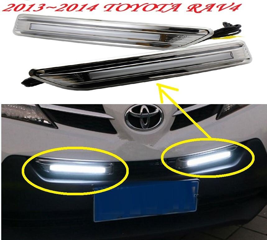 car-styling,2013~2015 RAV4 daytime light,led,Free ship!2pcs/set,RAV4 fog light;car-covers,RAV4,RAV 4 car styling rav4 taillight 2009 2012 led free ship 4pcs set rav4 fog light car covers chrome car detector rav4 tail lamp rav 4