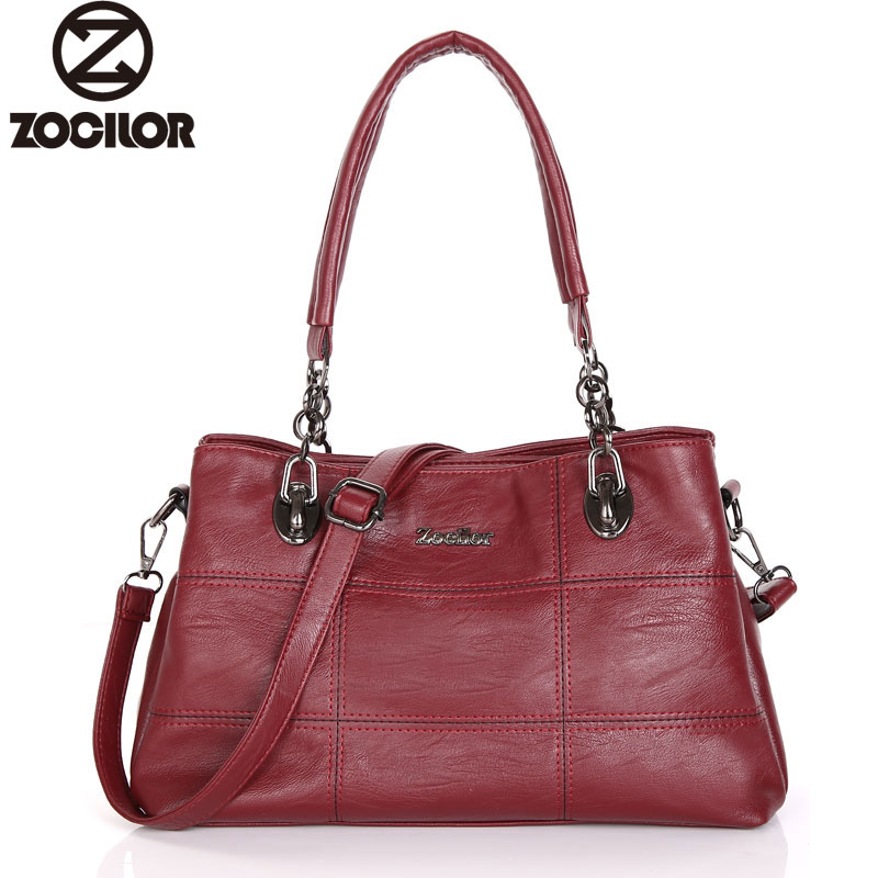 2017 New Female PU Leather Handbag Luxury Handbags Women Bags Designer Tote Messenger Bags Crossbody Bag for Women sac a main new 2017 fashion women pu leather shoulder bags ladies patent crossbody bag brand luxury handbags women bags designer sac a main