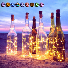 Waterproof Garland Decoration Fairy Merry Christmas Lamp Valentine Led String Light DIY Party Holiday Bottle Night Bulb Wedding