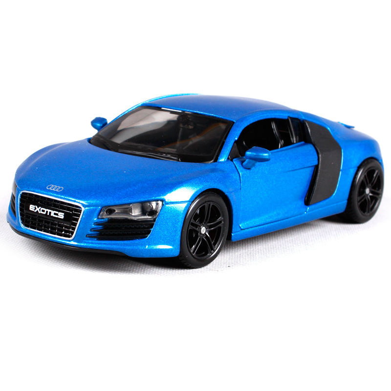Maisto 1:24 Audi R8 Diecast Model Car Toy New In Box Free Shipping 32504
