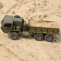 1:16 Military Truck 6 wheels Drive Simulation Military Card Full scale Differential Remote Control Car Toy Car Model