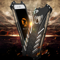 Phone Cases For Apple iPhone 5s 5 SE Luxury Armor Heavy Duty Metal Batman Protect Hard Bumper Case Cover For iPhone 5c Bracket