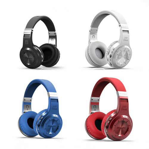 ФОТО Original Bluedio H+ Headset Bluetooth 4.1 Stereo HIFI Wireless Headphones Earphones For Calls Music with Mic FM TF Card slot
