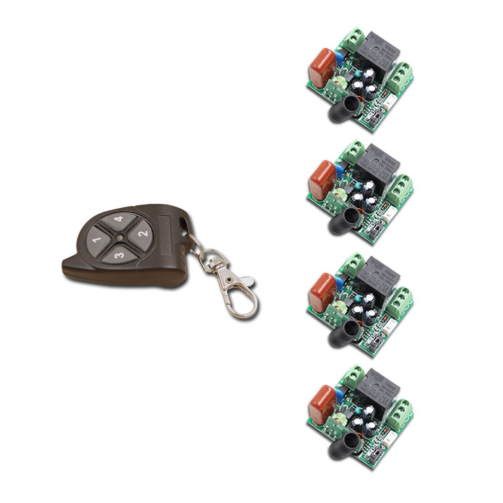 Nice AC220V 1CH Mini Remote Control Switch Small Receiver Light Lamp LED Bulb SMD Remote Lighting Switch 315/433 Learning Button chunghop rm l7 multifunctional learning remote control silver