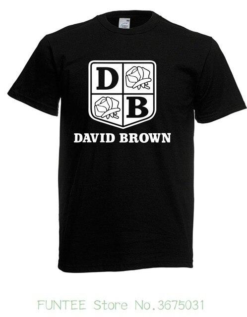 T Shirt Summer Novelty Cartoon T Shirt Herren T Shirt David Brown I