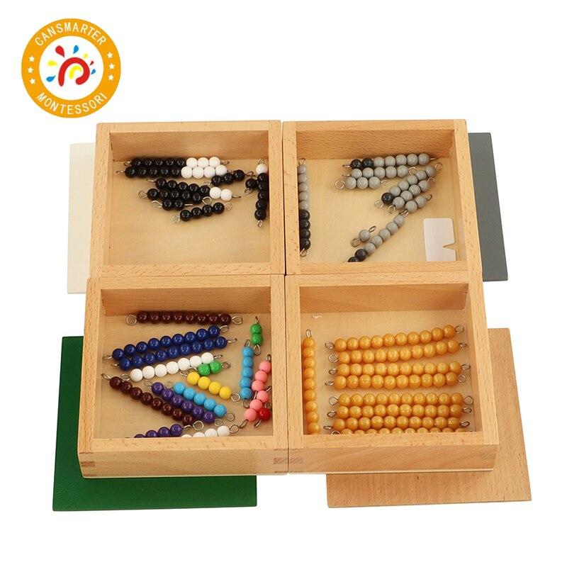 Montessori matériel bébé jouet mathématiques jeu de serpent opération aides pédagogiques éducation précoce maison enfants jouet