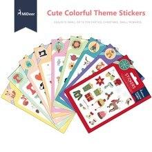 Children Mini Colorful Cartoon Theme DIY Sticker Toy Kinder Garten Gift Classic Toys