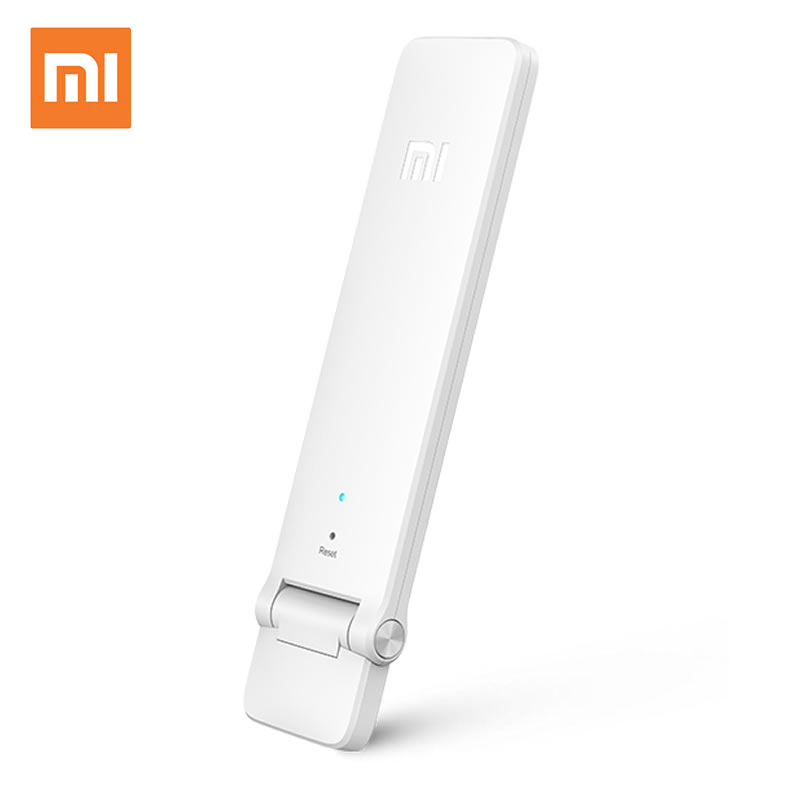 100% Original Xiaomi WIFI Repeater 2 Mi Wifi Amplifier Signal Boosters 2.4Ghz 300mbps Wireless Range Extender Smart Home