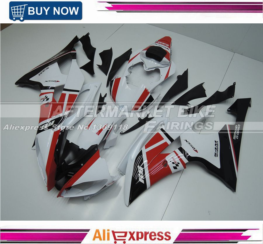 Moto GP UV Painting Job 100 Easy Installation ABS Plastic Motorcycle Injection Fairing Kit For Yamaha