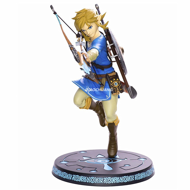 The Legend of Zelda Breath of the Wild Link Archer 10 PVC Painted Statue Action Figure Collectible Model Toy Boxed W130